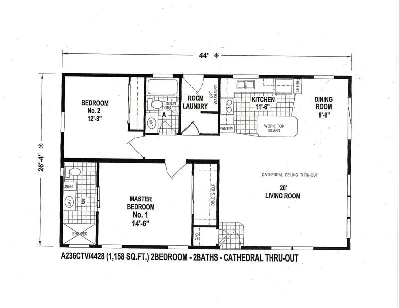 INVENTORY - Village Homes, Manufactured, Modular and Pre ... on 28x36 house plans, 28x50 ranch house floor plans, 24x48 house plans, 24x40 house plans, open floor plans, simple ranch floor plans,